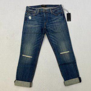Black Orchid Boyfriend Jeans - Rustic Look